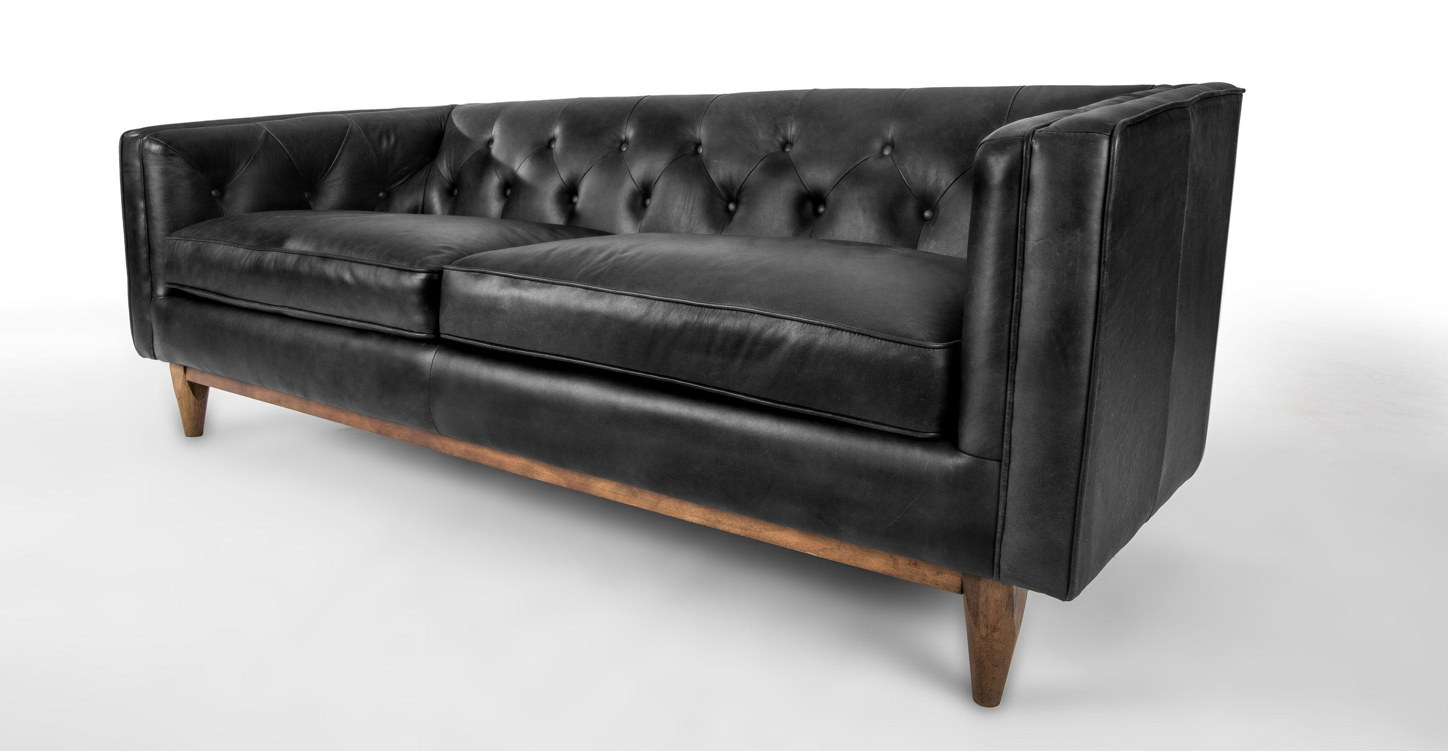 Sofas Center : Caramel Leather Mid Century Sofa Jcp Beigern Throughout Mid Century Modern Leather Sectional (Image 14 of 20)