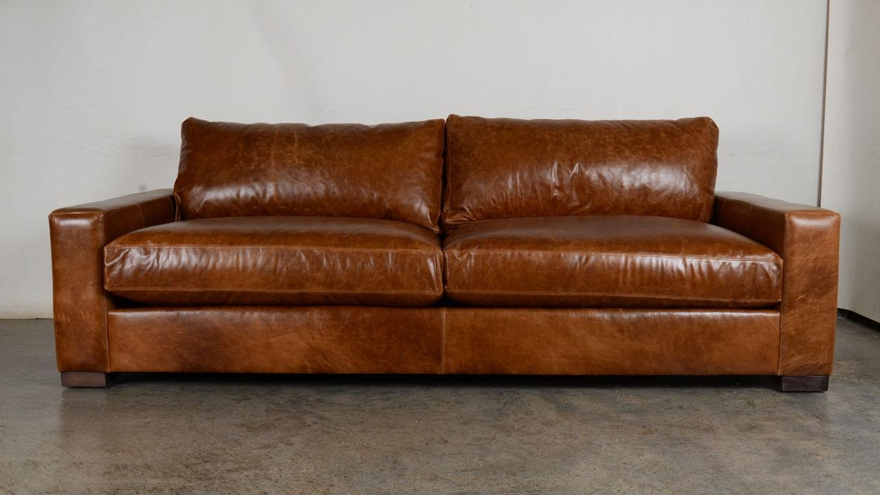 Caramel Leather Sofa Carmel Colored Leather Couch