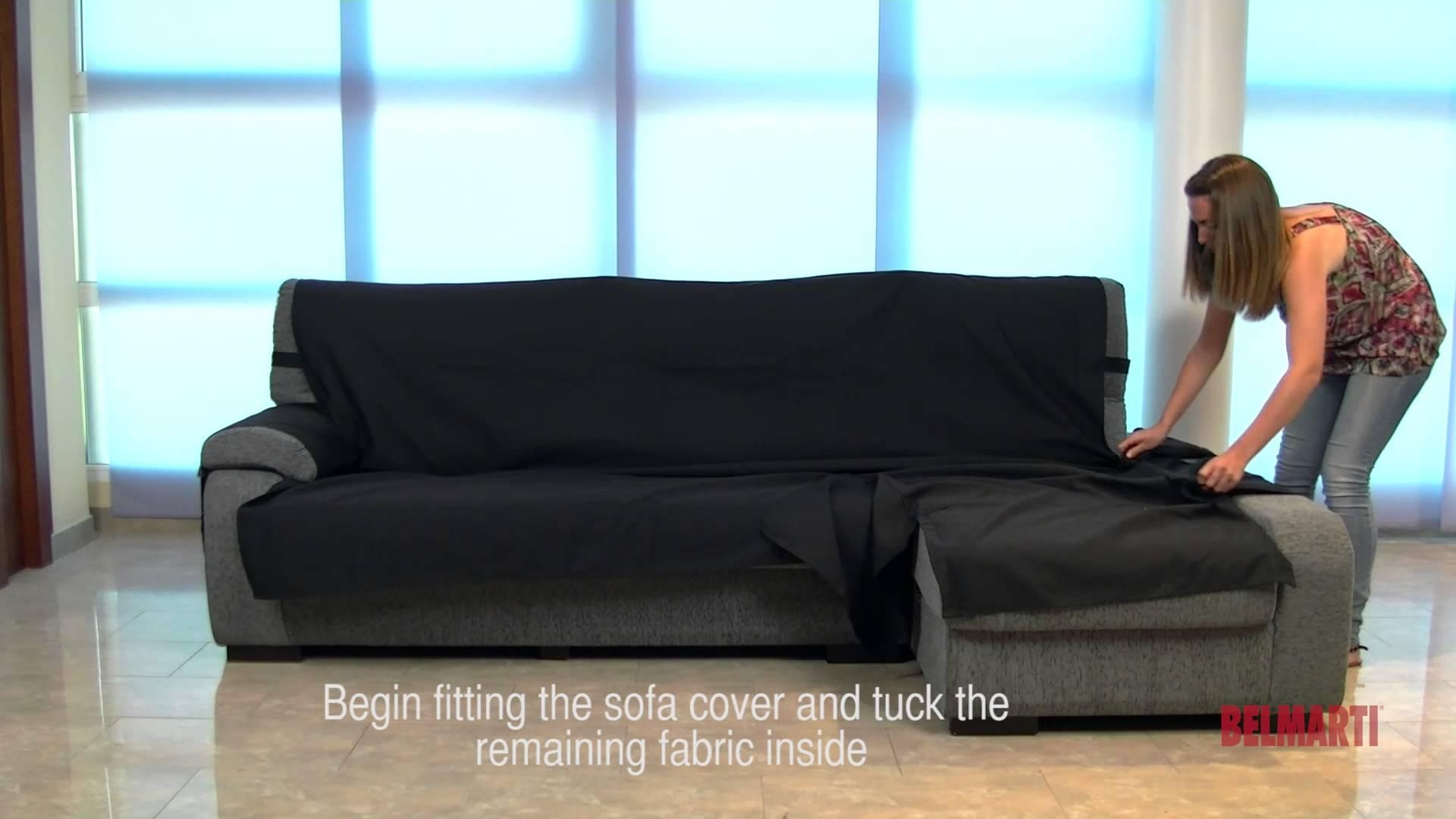Awesome Sofas Center : Chaise Lounge Sofa Covers Sectional Cushion And Intended For Chaise  Sofa Covers (