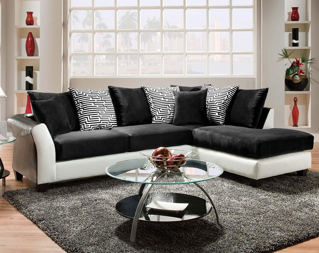 Sofas Center : Cheap White Sectional Sofa Leather Sofacheap Others Inside Cheap Black Sectionals (Image 11 of 15)