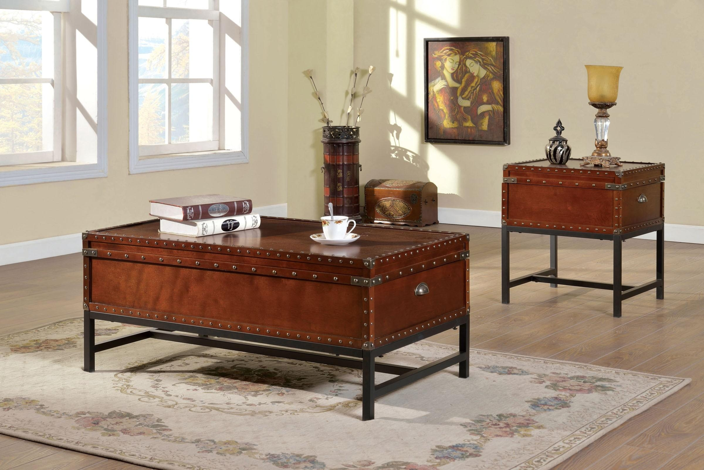 Sofas Center : Cherry Wood Coffee Table With Drawers Coffetable For Cherry Wood Sofa Tables (View 6 of 20)