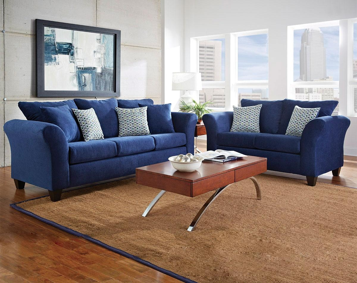 Sofas Center : Cobalt Blue Sofas For Sale Asheville Nc Sectional With Regard To Blue Denim Sofas (View 8 of 20)