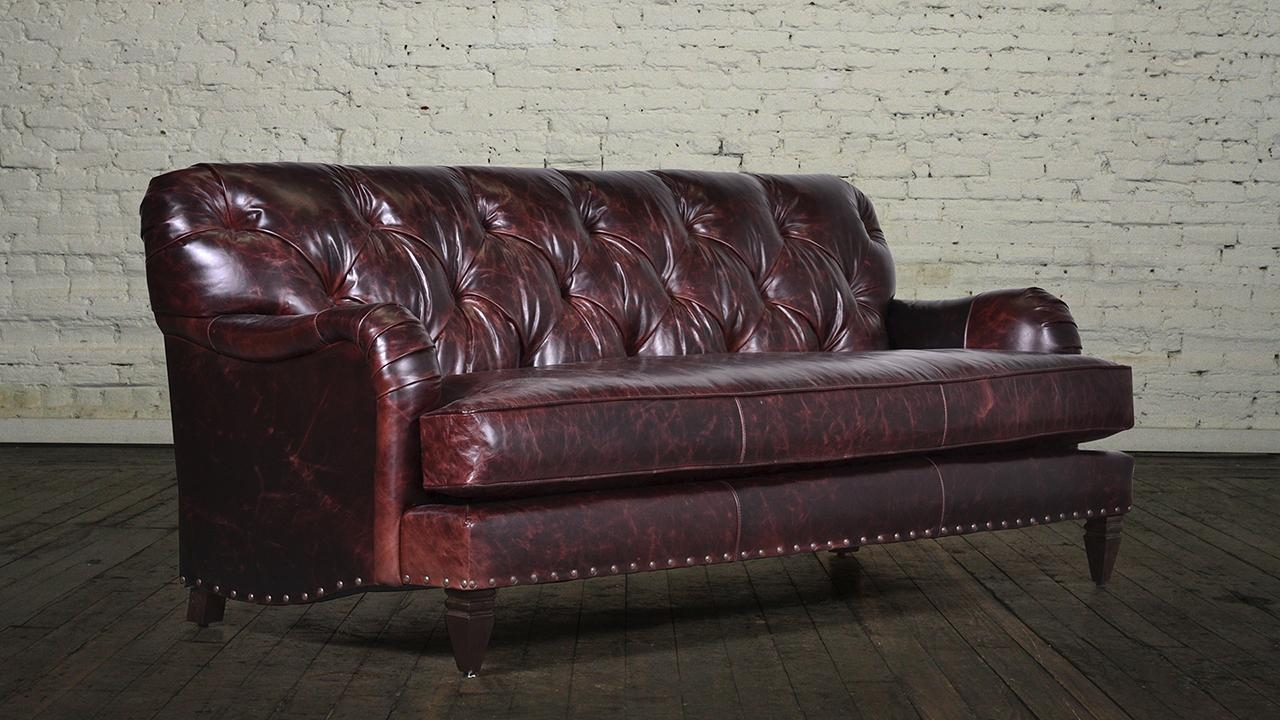 Sofas Center : Contemporary Living Room Bedroomla Furniture Image In Brompton Leather Sectional Sofas (View 6 of 20)