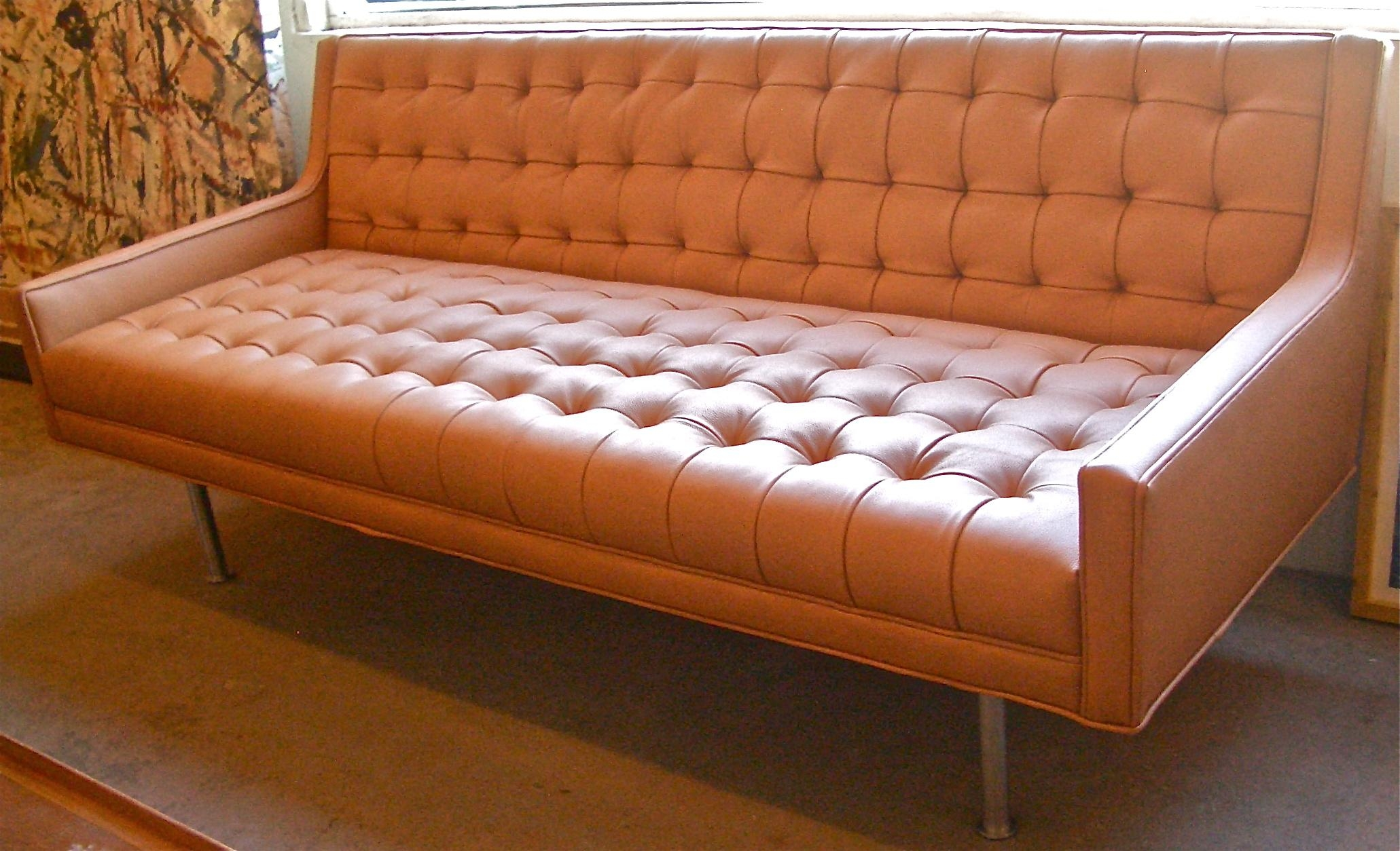 Sofas Center : Contemporary Mid Century Modern Sofas And Loveseats Intended For Mid Century Modern Leather Sectional (Image 15 of 20)