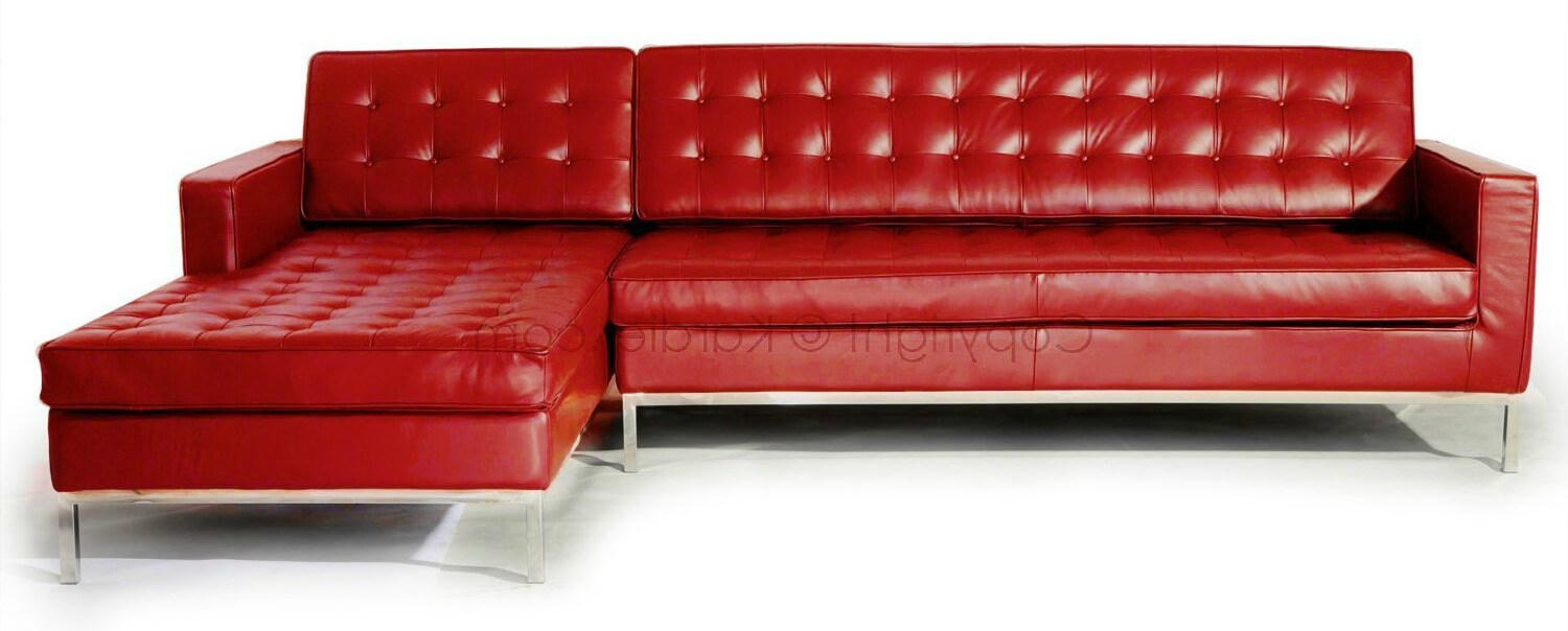 Sofas Center : Contemporary Red Sofa And Home Modern Black Leather Within Black And Red Sofas (View 12 of 20)