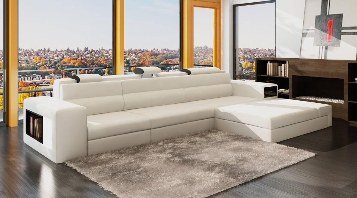 Sofas Center : Contemporary White Italian Leather Sectional Sofa 3 Intended For Italian Leather Sectionals Contemporary (View 14 of 20)