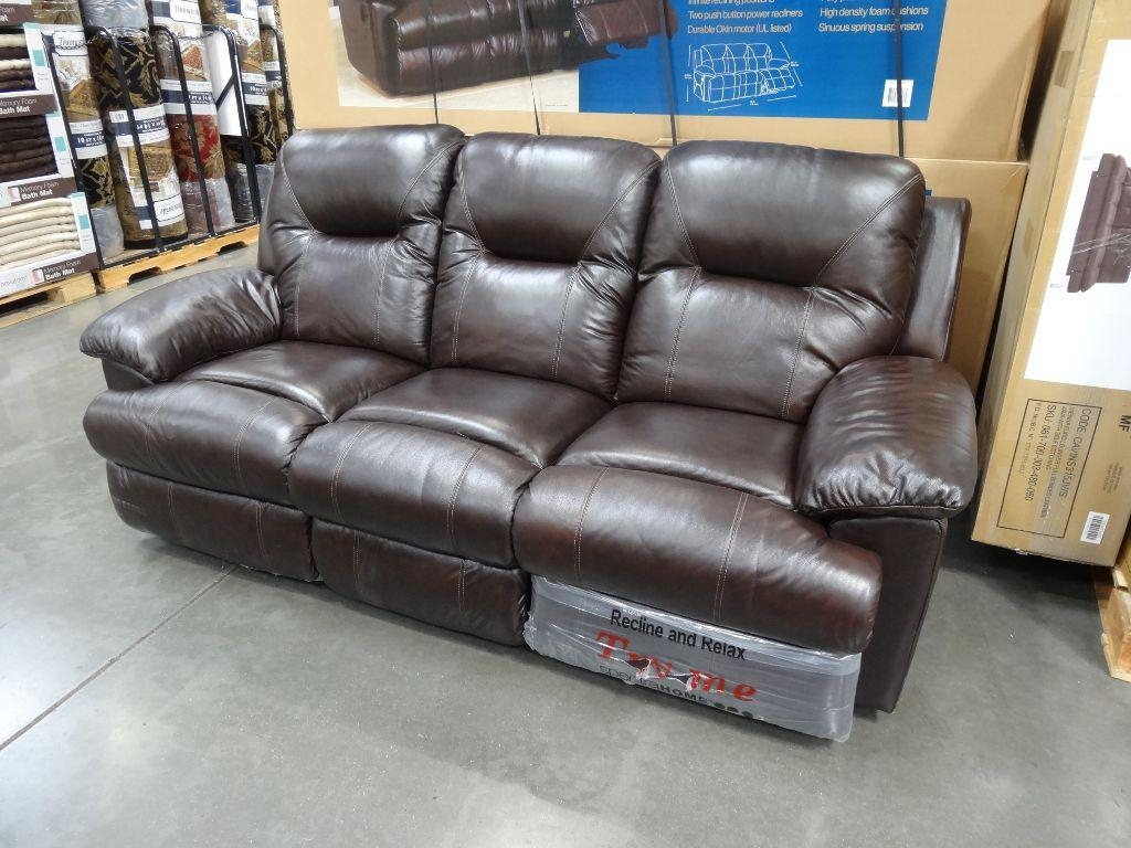 Sofas Center : Costco Pulaski Leather Reclining Sofa Berkline Pertaining To Berkline Recliner Sofas (Image 12 of 20)