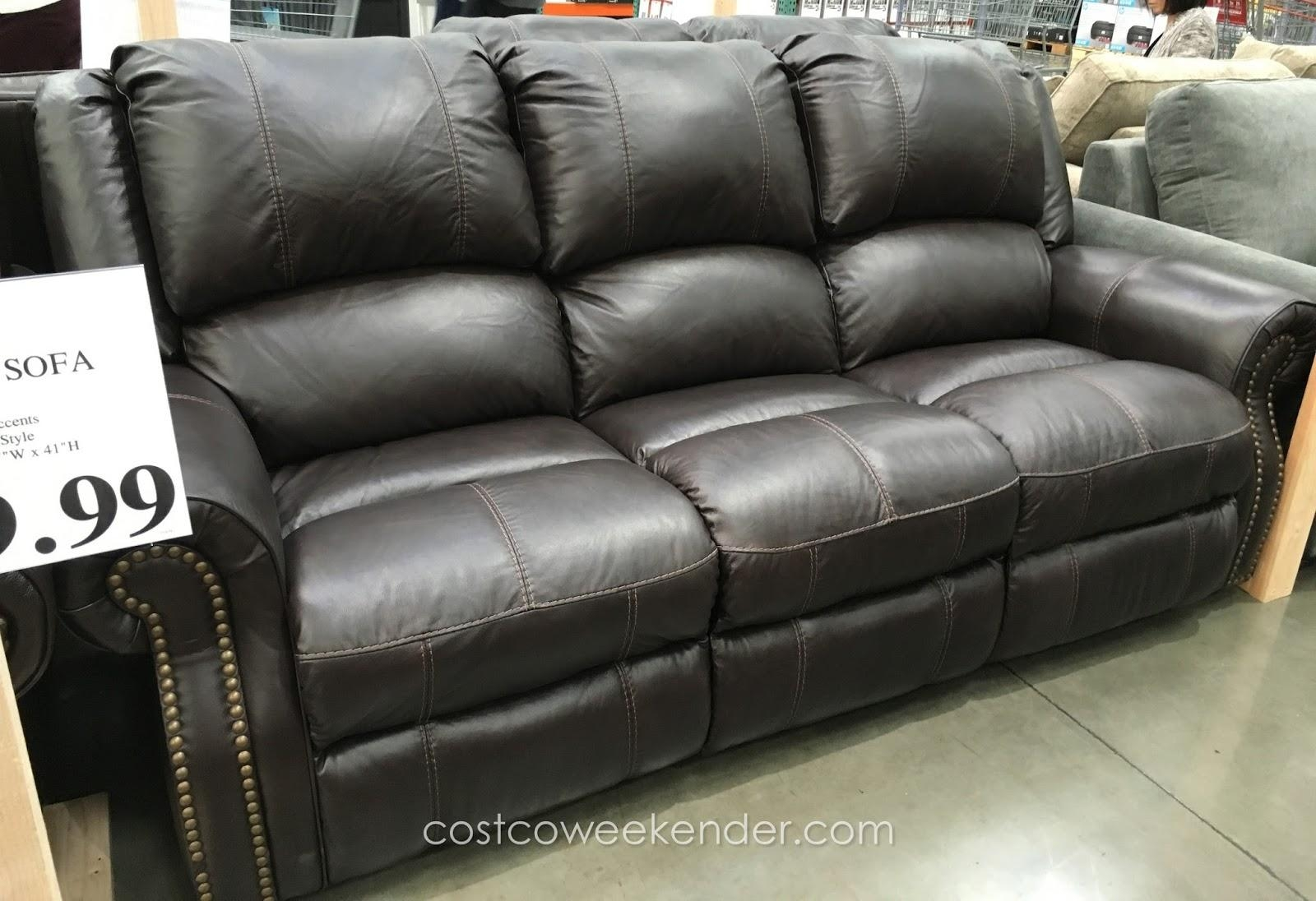 Sofas Center : Costco Pulaski Leather Reclining Sofa Berkline With Regard To Berkline Sofa Recliner (Image 18 of 20)