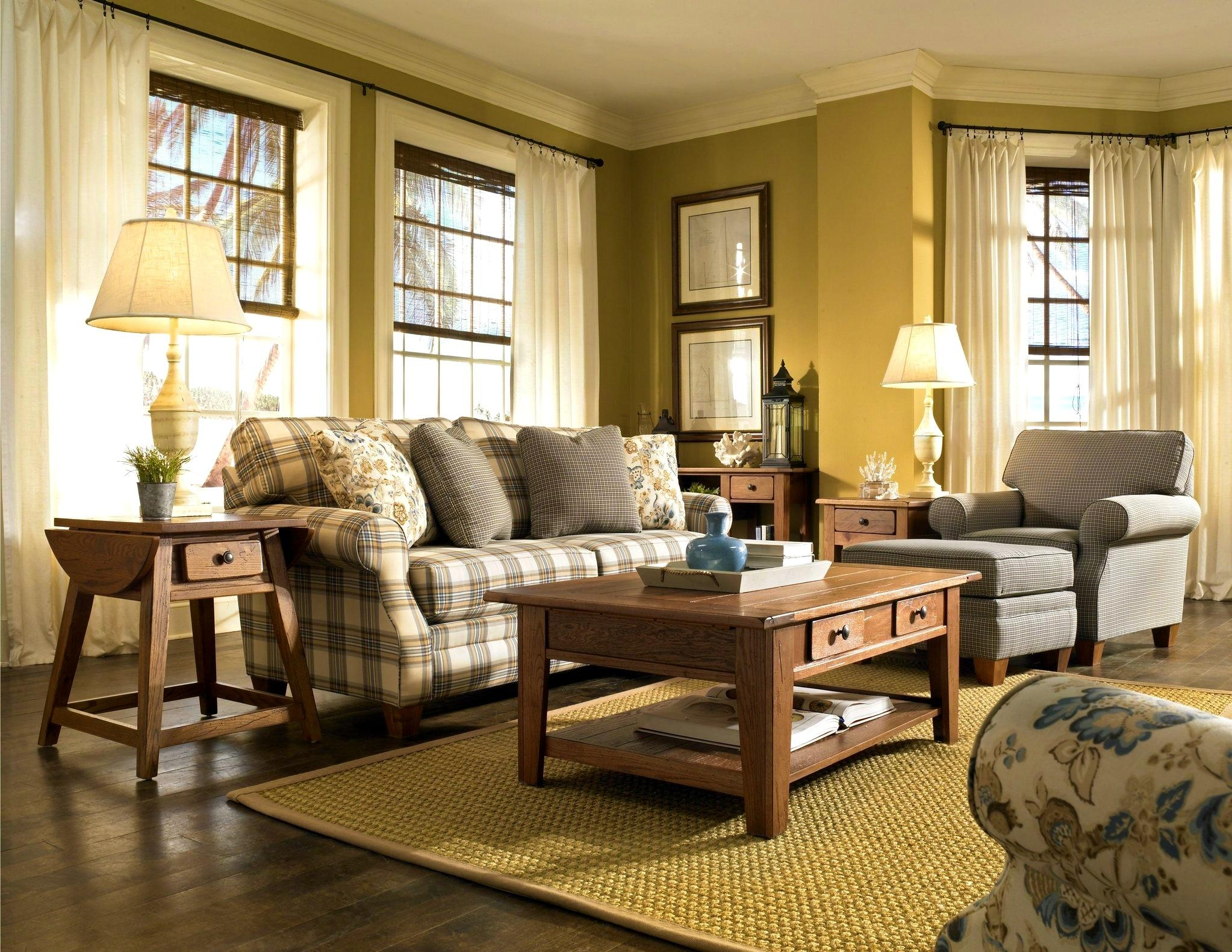 Sofas Center : Country Style Sofas And Loveseats Plaid Or Couches Inside Country Style Sofas And Loveseats (View 5 of 20)