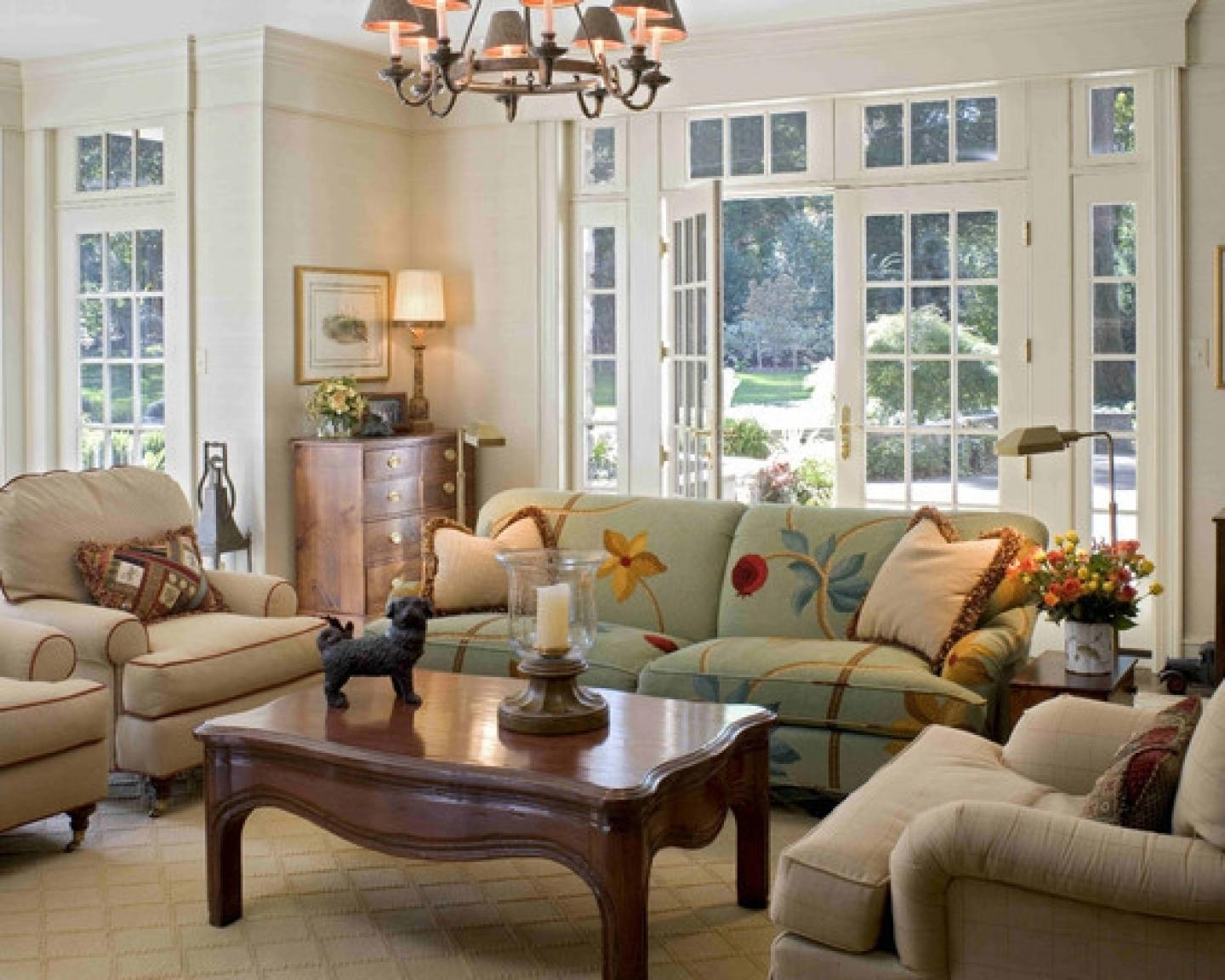 Sofas Center : Country Style Sofas In Floral Print And Loveseats Intended For Country Style Sofas (Image 13 of 20)