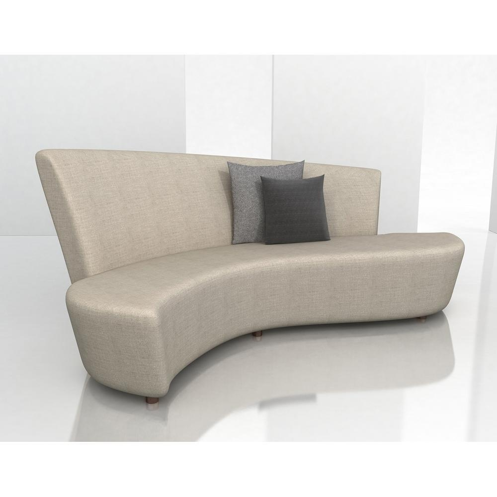 Sofas Center : Curved Couch Exceptional Small Sofa Pictures Intended For Small Curved Sectional Sofas (Image 16 of 20)