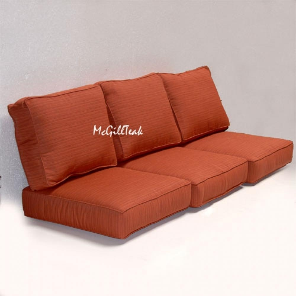 Replacement Sofa Seat Cushion Covers: 20 Inspirations Individual Couch Seat Cushion Covers