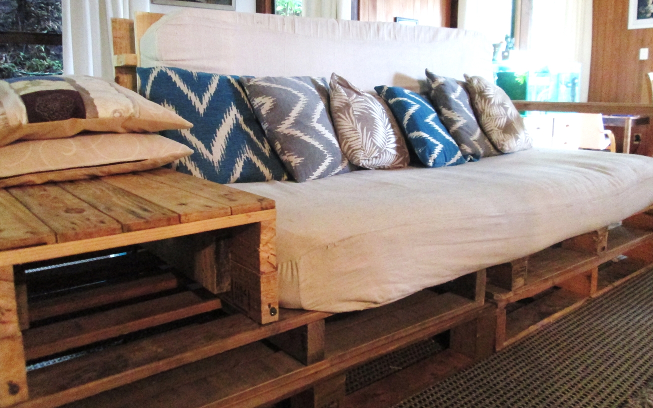 Sofas Center : Diy Pallet Sectional Sofa Cushionsdiy Plans Outdoor Intended For Pallet Sofas (View 13 of 20)
