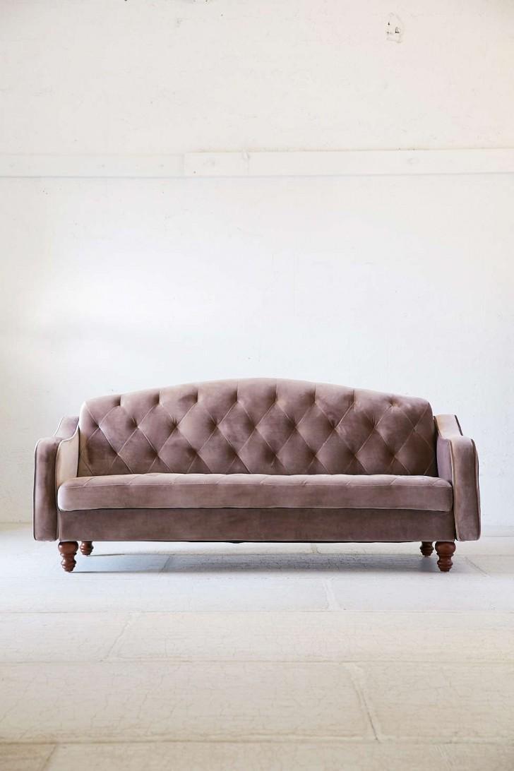 Sofas Center : Ergonomic Ava Velvet Tufted Sleeper Sofa Staggering Regarding Ava Tufted Sleeper Sofas (View 18 of 20)