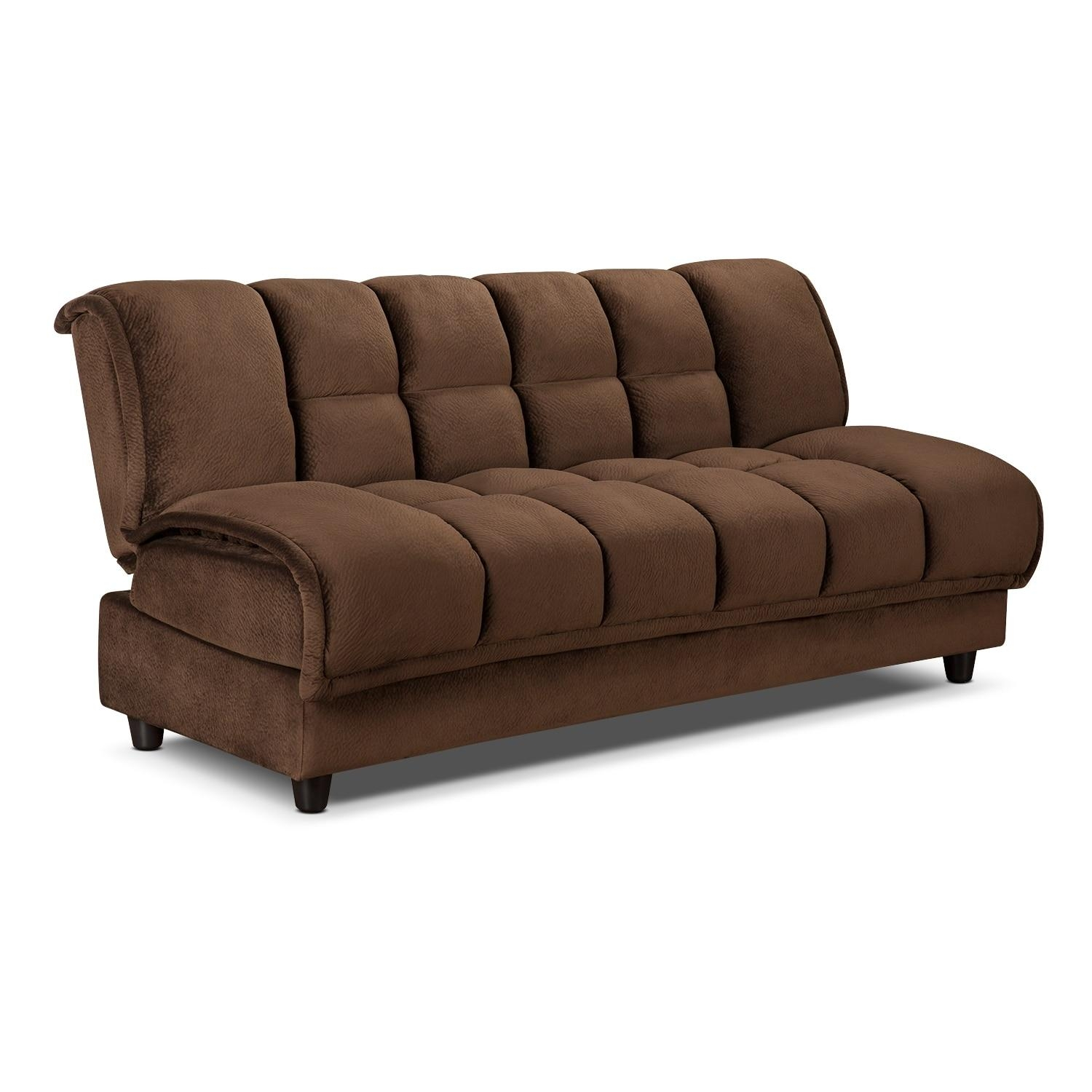 Sofas Center : Evelyn Designer Style Tufted Back Fabric Sofa For Denver Sleeper Sofas (View 4 of 20)