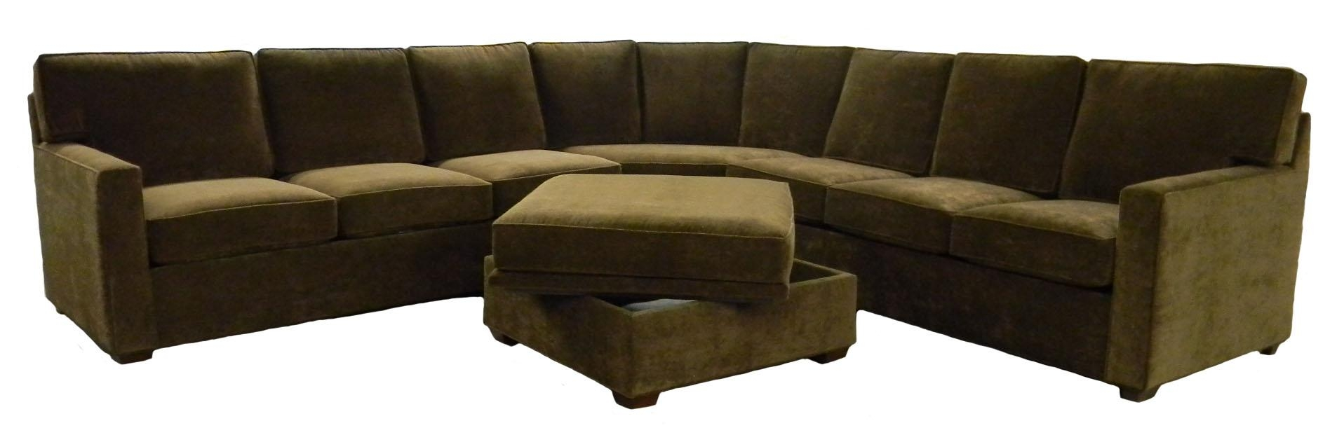 Sofas Center : Excellent Green Sectional Sofa Photos Inspirations Throughout Green Sectional Sofa With Chaise (Image 12 of 15)