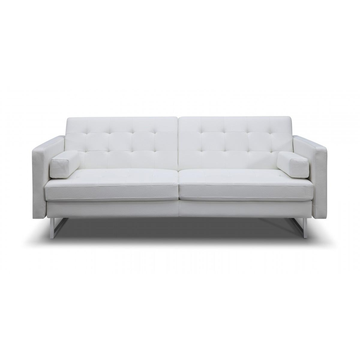 Sofas Center : Faux Leatherleeperofa 87F2517A59Db 1 Mainstays With Faux Leather Sleeper Sofas (View 3 of 20)