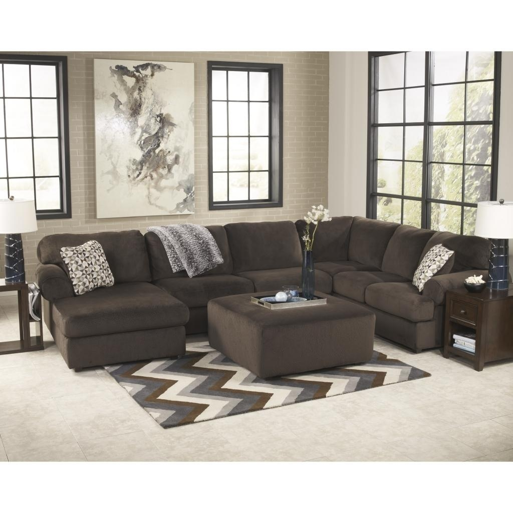 Sofas Center : Furniture Circular Sofa Oversizedctionalctionals Intended For Sectional Sofa With Oversized Ottoman (Image 15 of 20)