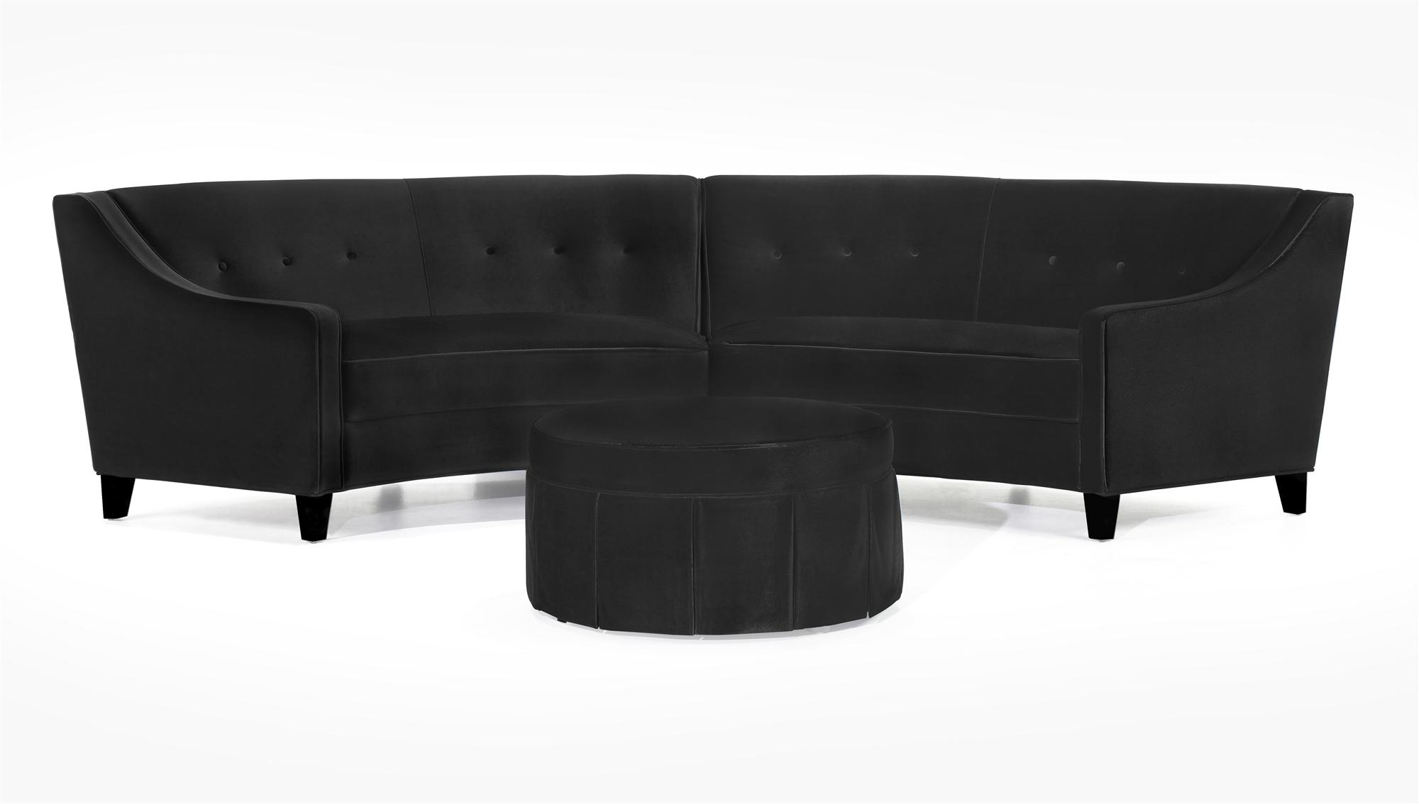 Sofas Center : Furniture Curvedional Sofa Circular Small For Round Sectional Sofa Bed (Image 19 of 20)