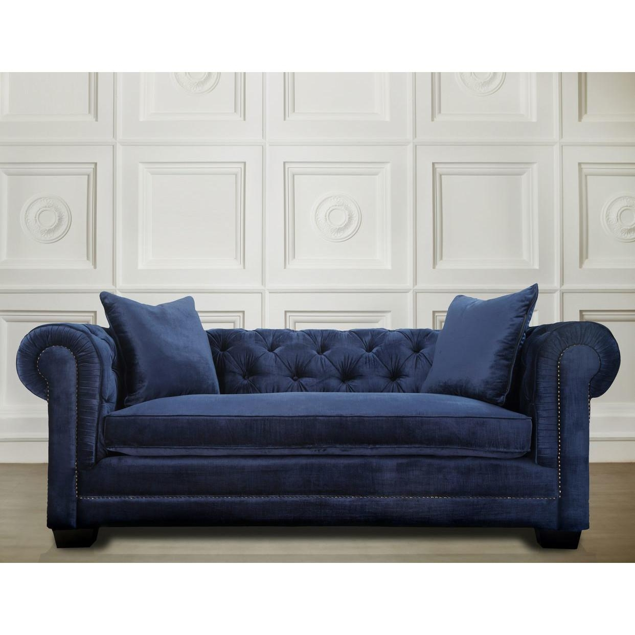Sofas Center : Furniture Of America Sm3071 Sf Cornelia With Blue Jean Sofas (Image 17 of 20)