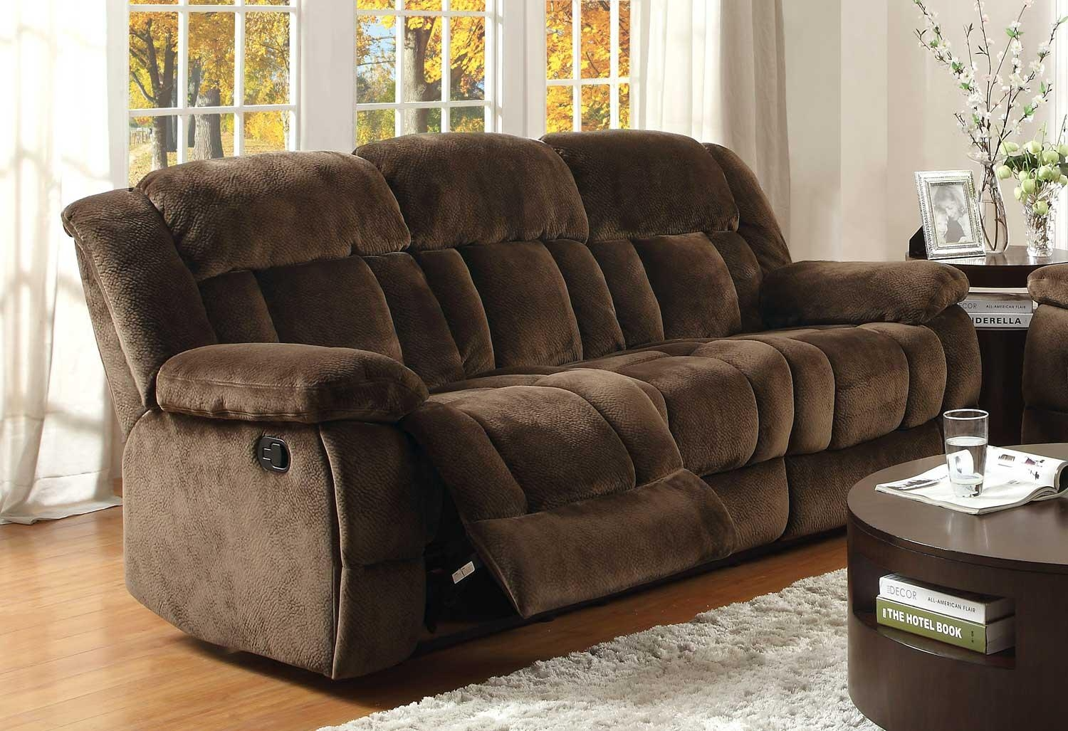 Sofas Center : Furniture Romantic Loveseat Recliner With Console Within Sofas With Console (Image 14 of 20)