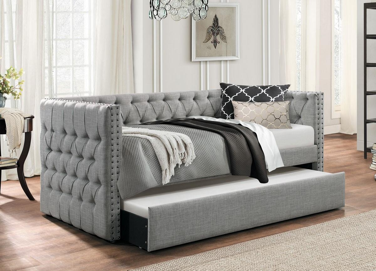 Sofas Center : Futon Sofa With Trundle Undersofa Twin 33 Singular In Sofas With Trundle (Image 12 of 20)