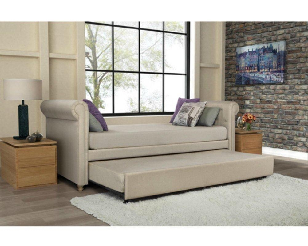 Sofas Center : Futon Sofa With Trundle Undersofa Twin 33 Singular Inside Sofas With Trundle (Image 14 of 20)
