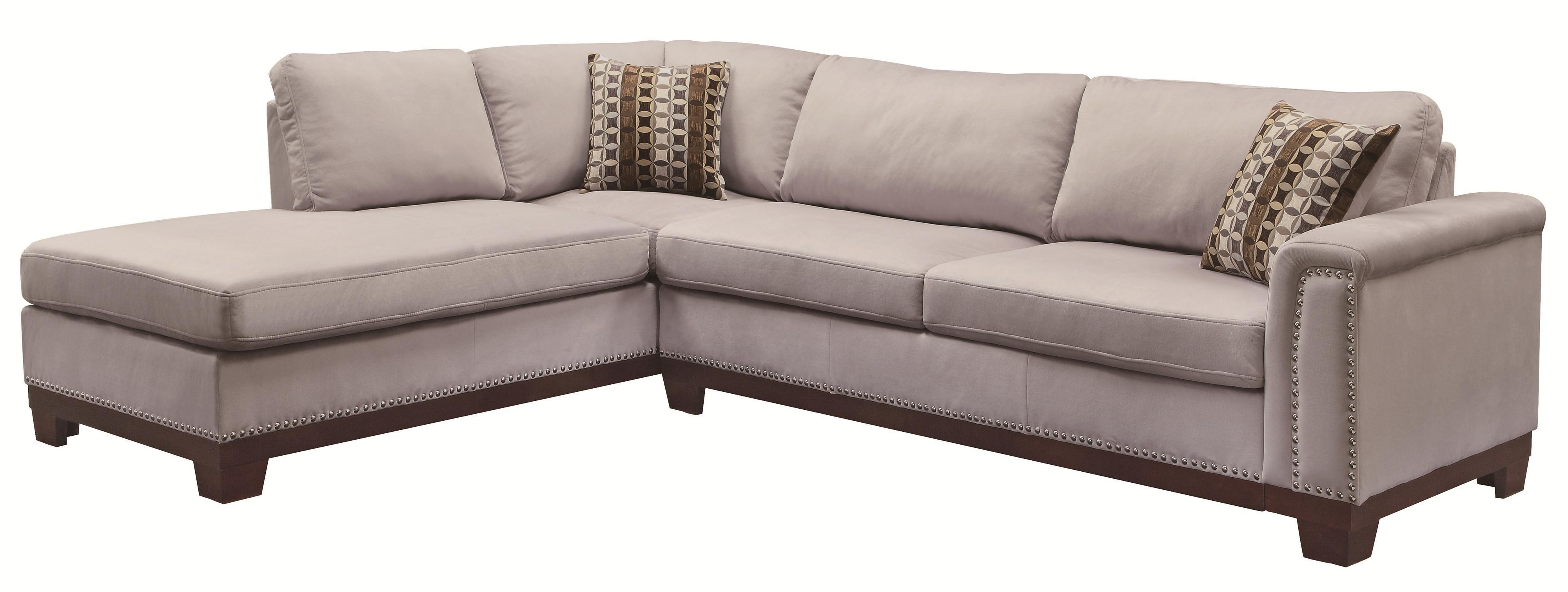 Sofas Center : Gray Sectional Sofa With Chaise Fantastic Photos With Small Grey Sofas (Image 16 of 20)