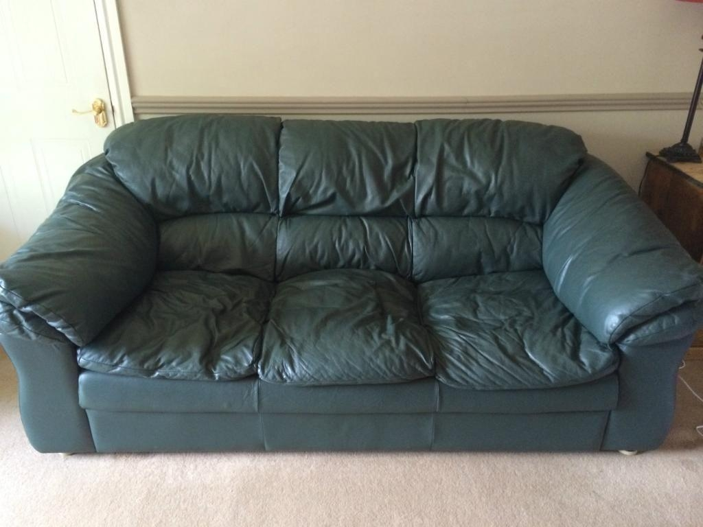 Sofas Center : Green Leather Sofa Light Setgreen And Chair Set Regarding Green Leather Sectional Sofas (Image 17 of 20)