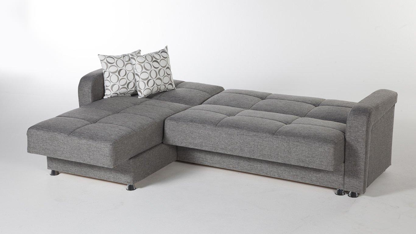 Sofas Center : Greyonal Sleeper Sofagrey Sofa Gray Sofas Modern Throughout Sectional Sleepers (View 17 of 20)