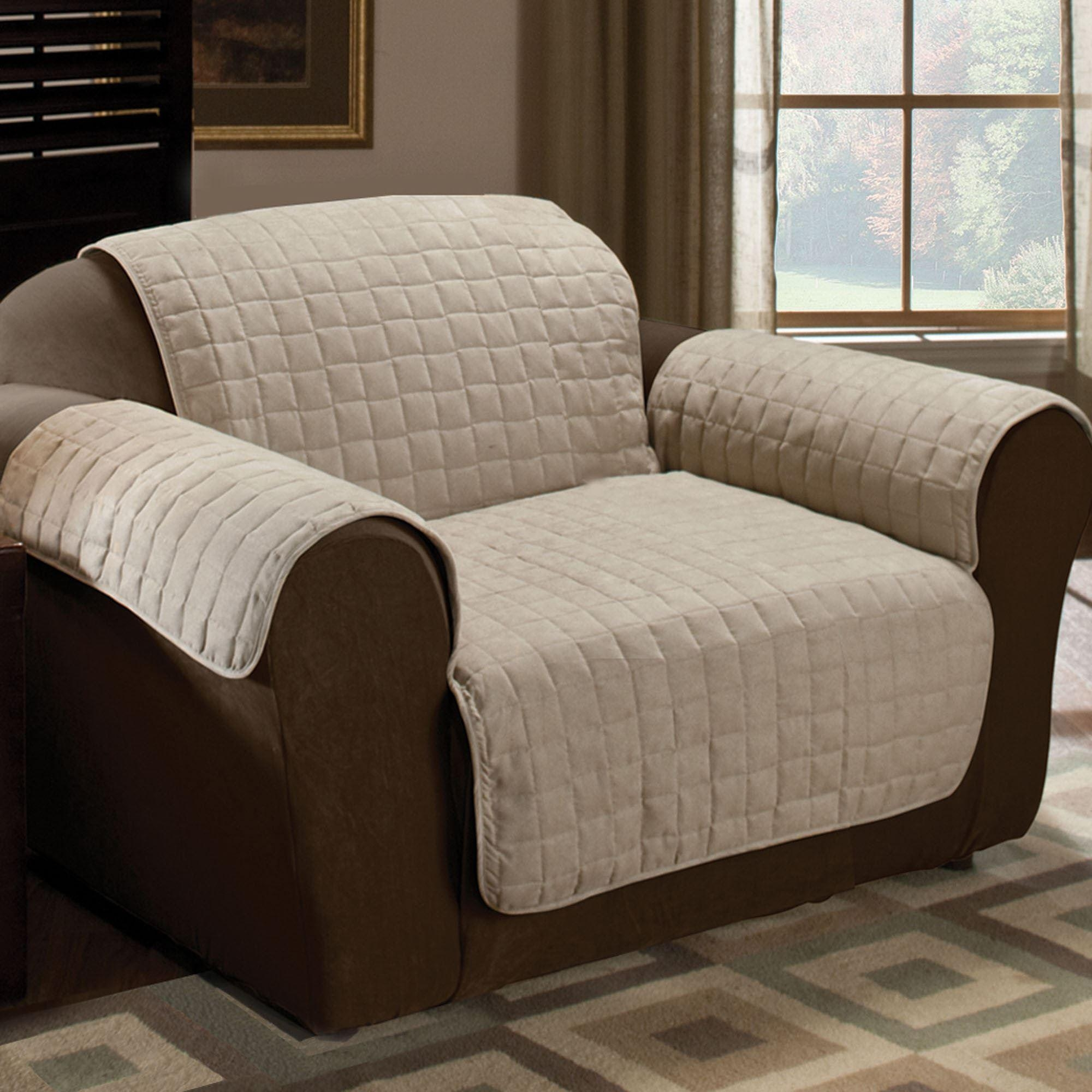 Sofas Center : H077 001 4 Fleece Reversible Petrniture Sofa Covers With Covers For Sofas (Image 18 of 20)