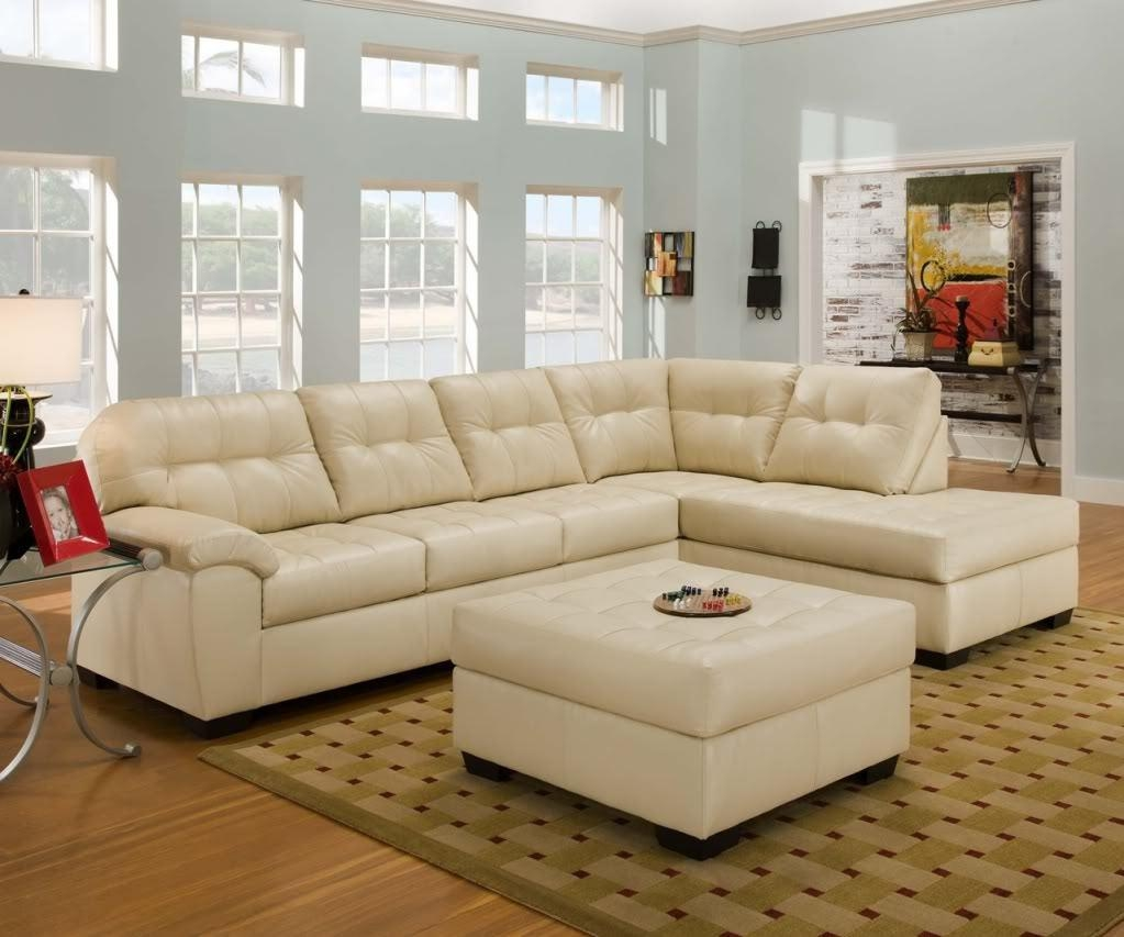 Sofas Center : High Back Light Color Leather Recliner Sofa Colored With Regard To Cream Colored Sofa (View 2 of 20)
