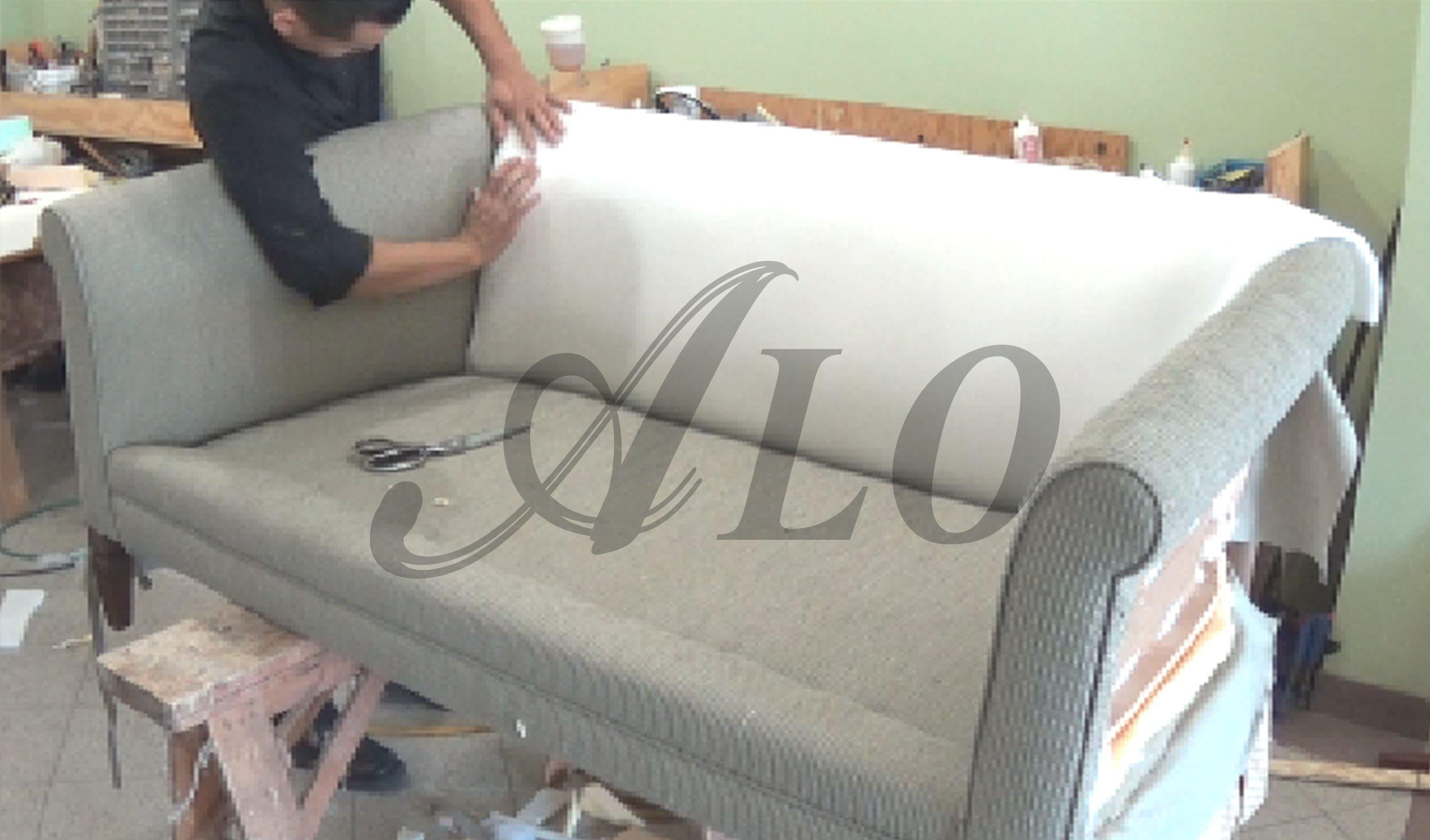 Sofas Center : How To Reupholsterfa Thrift Store Makeover Intended For Reupholster Sofas Cushions (View 8 of 20)