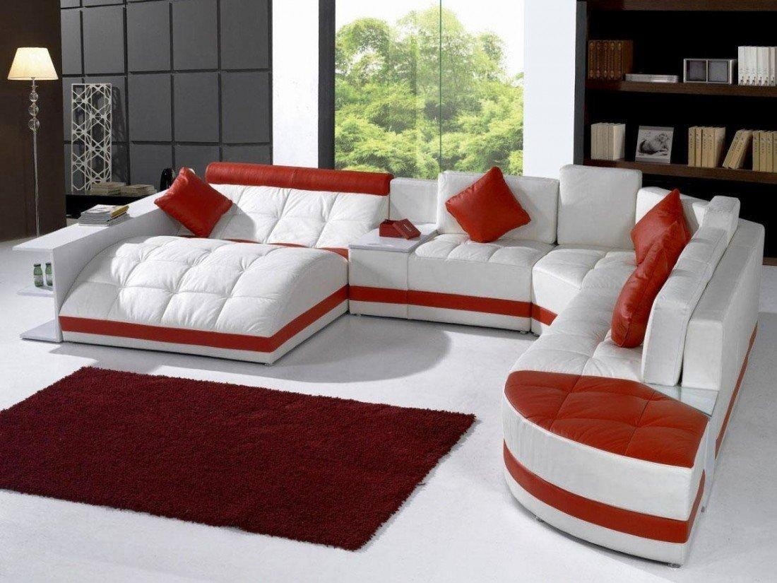 Sofas Center : Huge Sectionalfa Fabric Recliningfas U For In Huge Sofas (View 8 of 20)