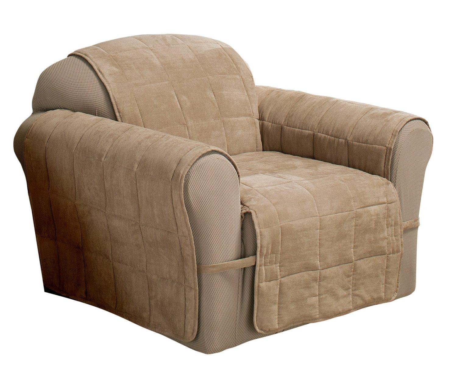 Sofas Center : J172 001 2 Faux Suede Pet Furniture Covers For For Dog Sofas And Chairs (View 16 of 20)