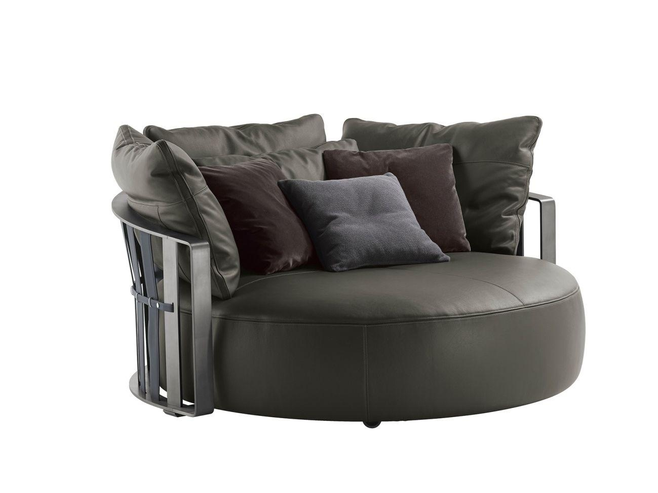Sofas Center : Large Round Sofa Chair Cheaplarge Cheaptrendy Inside Round Sofa Chairs (Image 16 of 20)