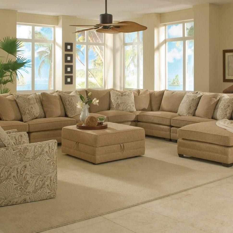 Sofas Center : Large Sectional Sofa With Ottoman Magnificent Sofas With Sectional With Ottoman And Chaise (Image 19 of 20)