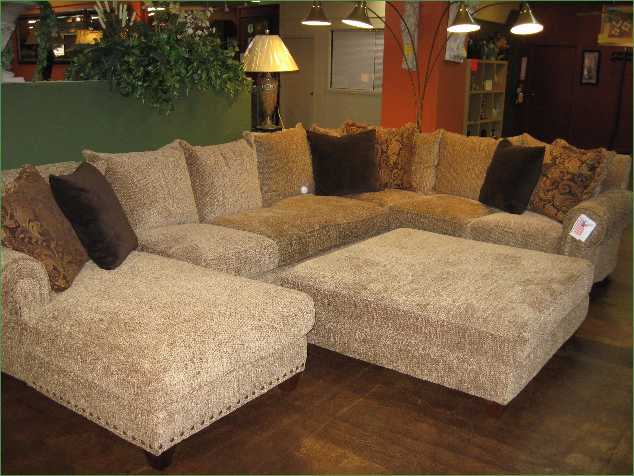 Sofas Center : Large Sectional Sofa With Ottoman Sensational Inside Sectional Sofa With Large Ottoman (Image 13 of 20)