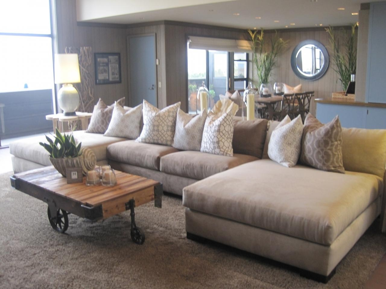 Sofas Center : Large Sectional Sofas With Ottoman Wilmington In Sectional Sofa With Large Ottoman (Image 17 of 20)