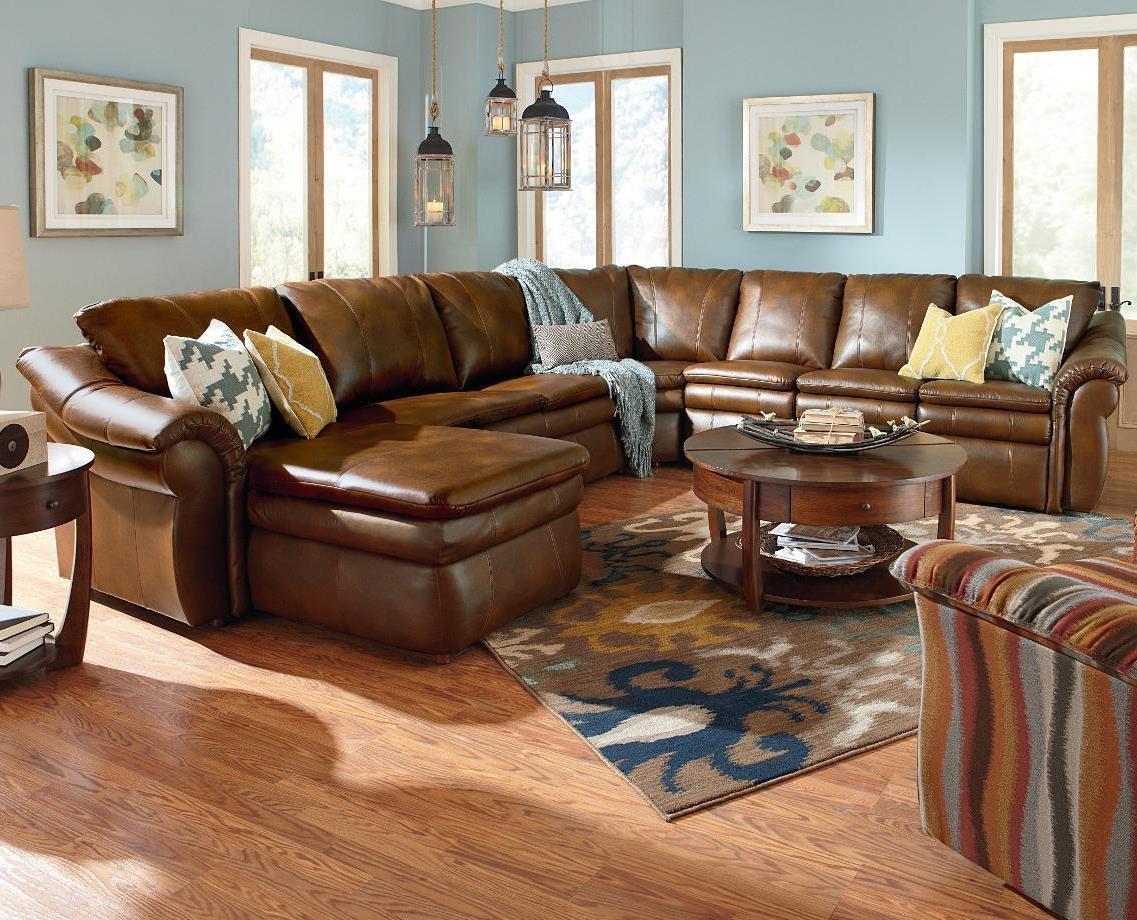 Sofas Center : Lazy Boy Sofa Sale Leather Sectional Sofas Used Within Lazy Boy Leather Sectional (View 20 of 20)