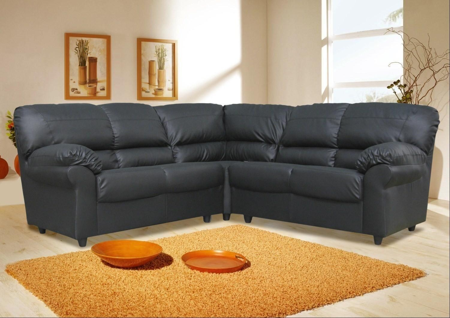 Sofas Center : Leather Corner Sofa Striking Photos Concept Sofas In Leather Corner Sofas (Image 18 of 20)