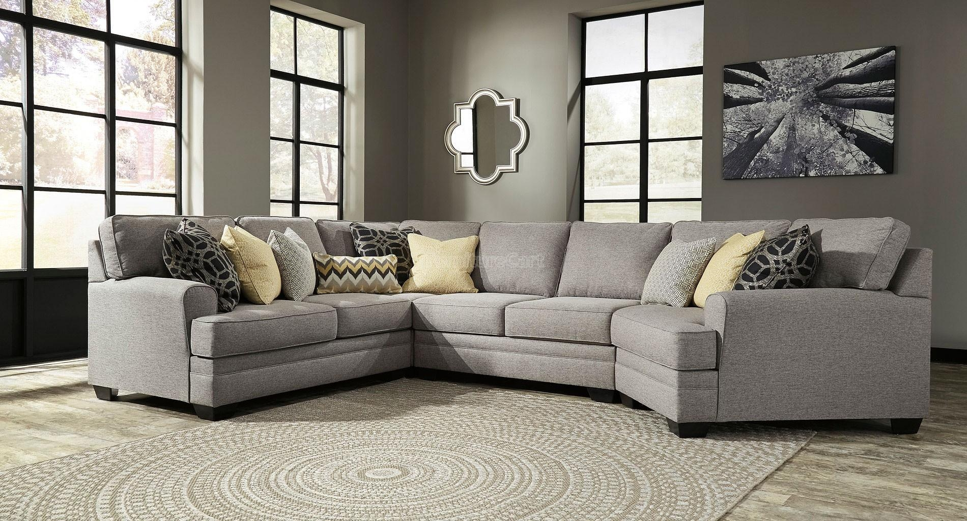 Sofas Center : Leather Cuddler Sectional Sofa Gray Aria With Within Bassett Cuddler Sectional (Image 12 of 15)