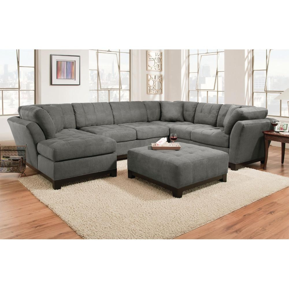 Sofas Center : Left Cuddler Sectionalbassett Furniture Pertaining To Bassett Cuddler Sectional (Image 14 of 15)