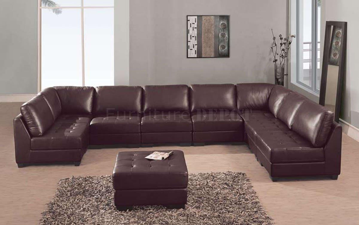 Sofas Center : Literarywondrous Sectional Leather Sofas Photo For Huge Leather Sectional (View 6 of 20)