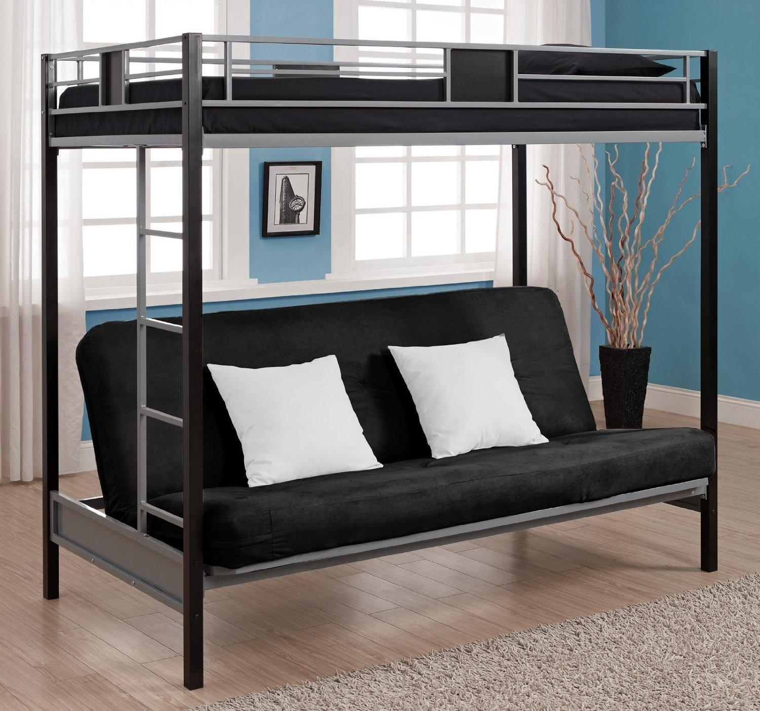 Sofas Center : Loft With Sofa Bedroom White Wooden Bunk Beds Desk With Regard To Sofa Bunk Beds (View 5 of 20)
