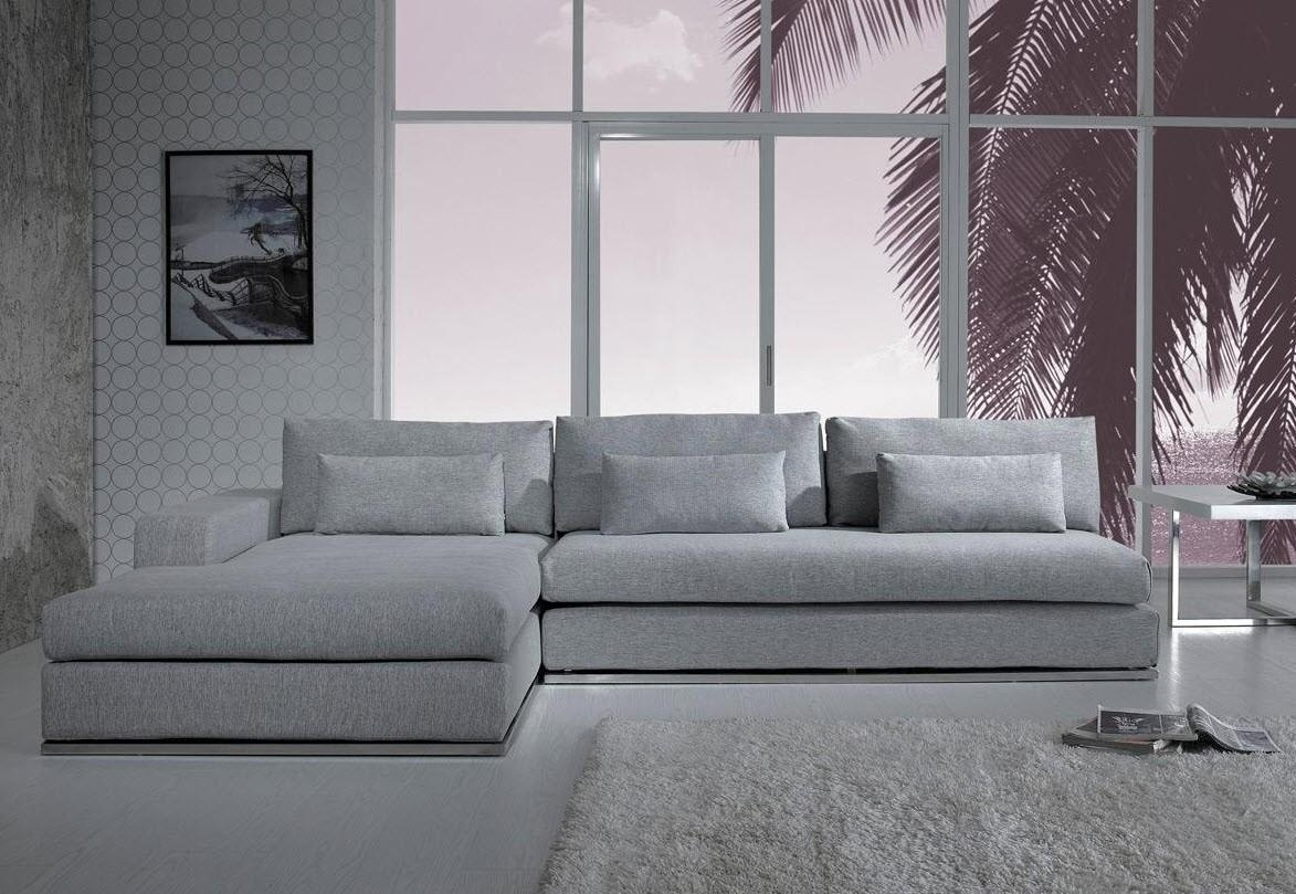 Sofas Center : Low Profile Sectional Sofa Modern Sofaslowh Inside Low Sectional (View 9 of 20)