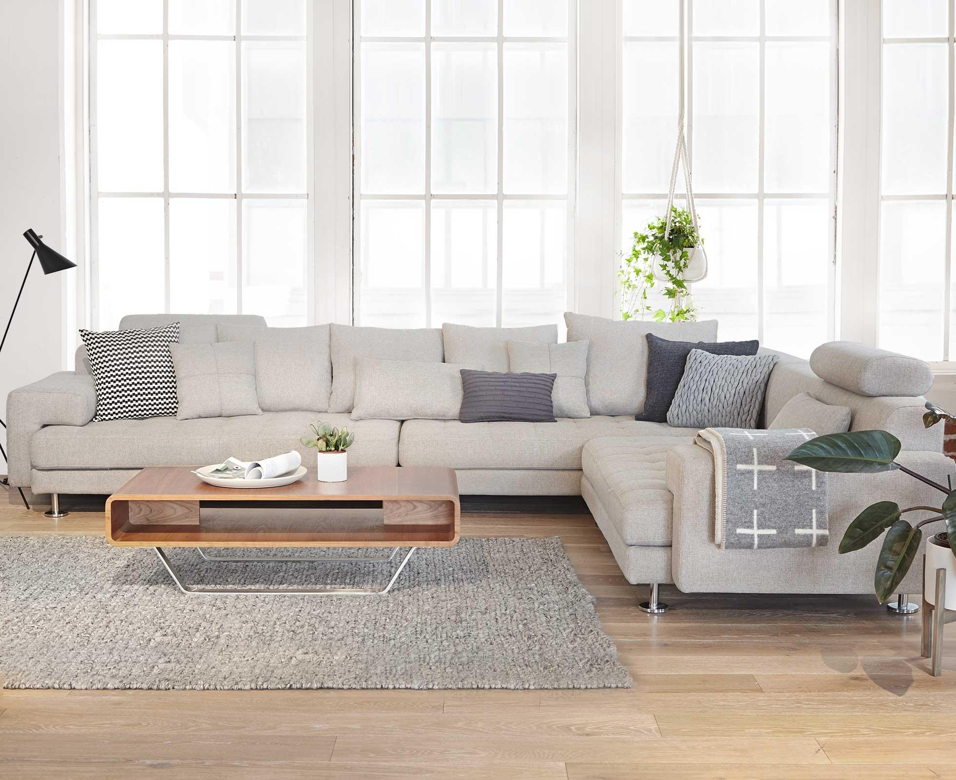 Sofas Center : Low Profile Sectional Sofa Small With Chaise Intended For Low Sectional (View 7 of 20)