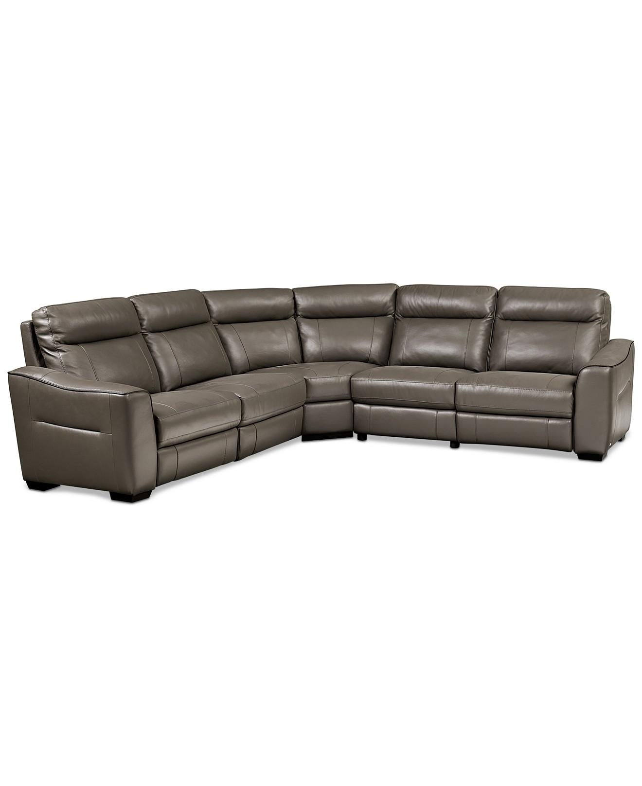 Sofas Center : Macys Leather Sofas For Salemacys Power Motion Regarding Macys Leather Sofas Sectionals (Image 13 of 20)