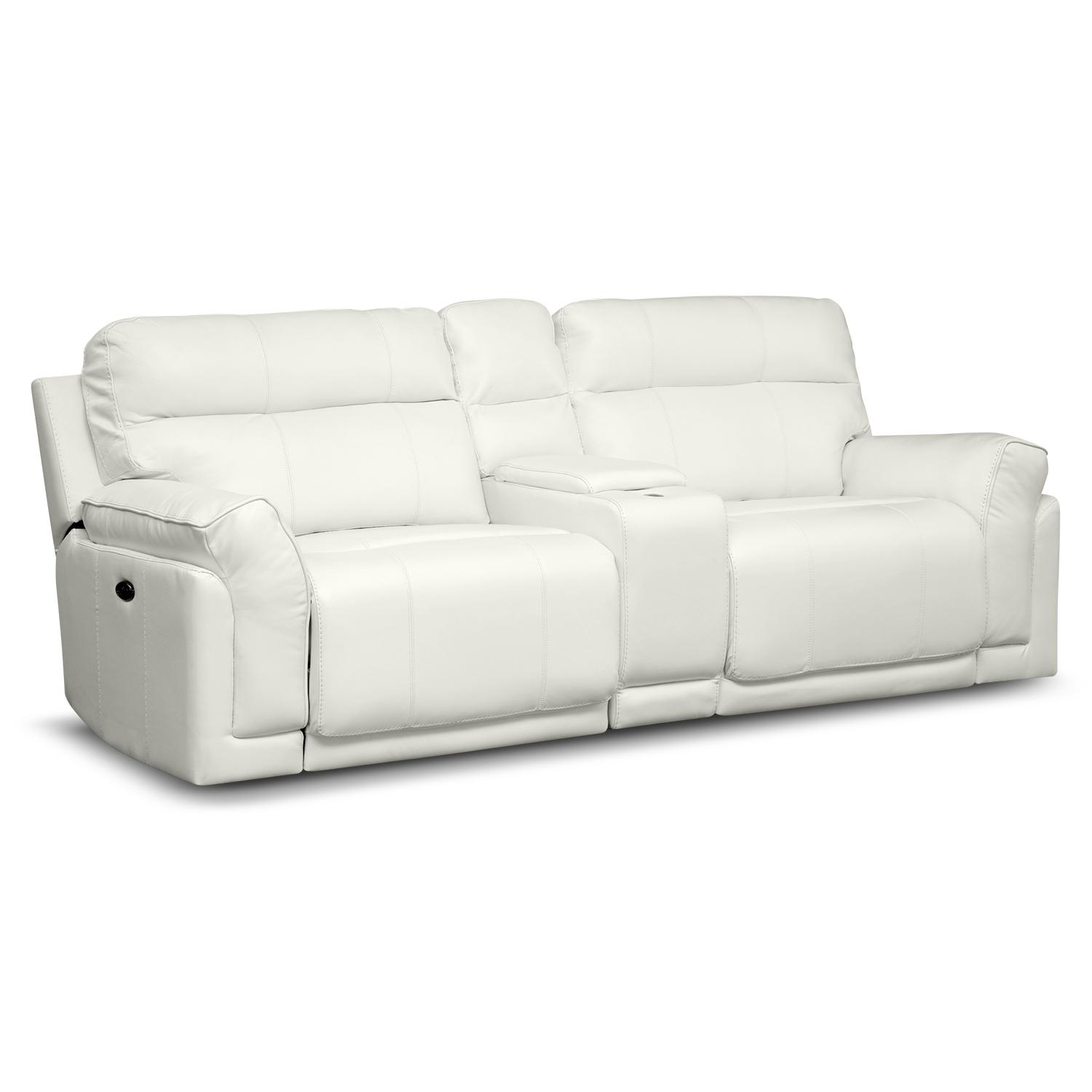 Sofas Center : Magnificent Reclining Sofath Console Images Concept For Sofas With Consoles (Image 7 of 20)