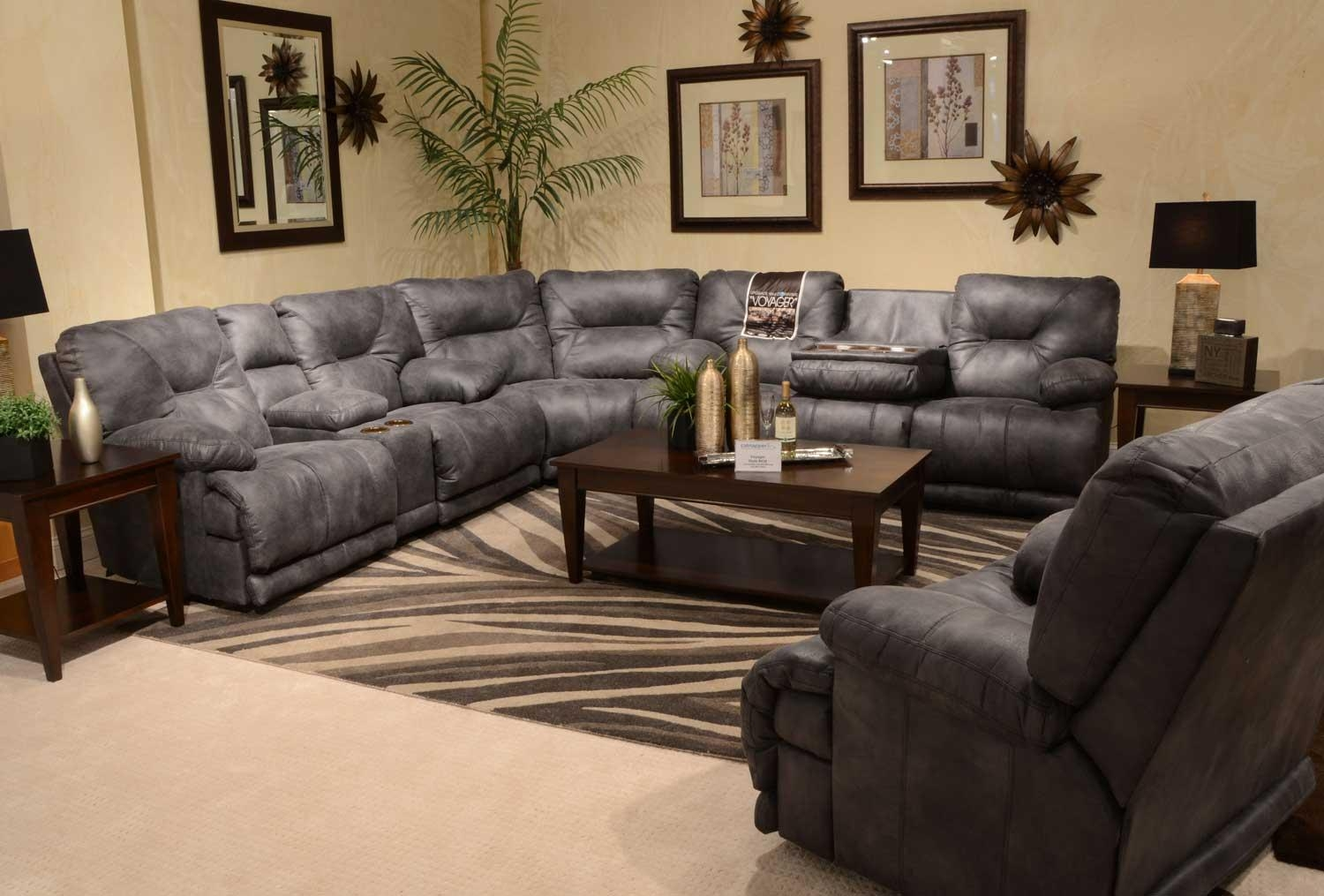 Sofas Center : Magnificent Recliningfa With Console Images Concept Within Sofas With Consoles (Image 11 of 20)
